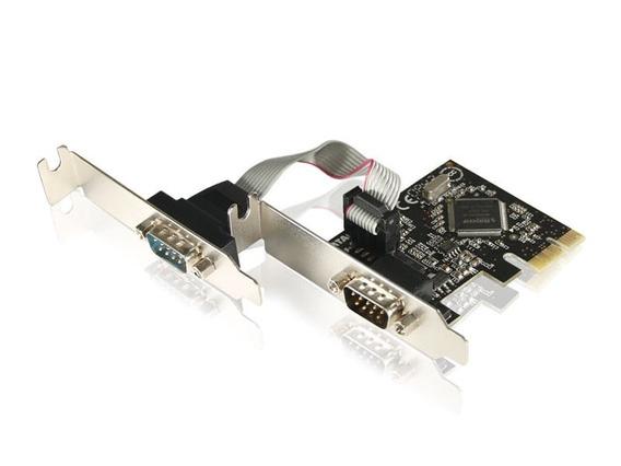 Placa - Comtac - Rede Low Profile Pci E 2 Seriais - 9134