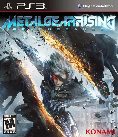 Metal Gear Rising Revengeance Ps3 Semi-novo