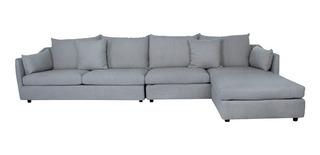 Sala Actual Studio Sofa Con Brazo Y Ottoman Gris