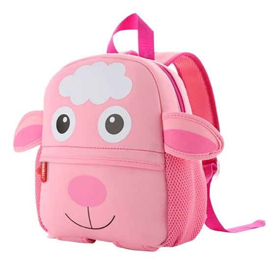 Mochila Animal Zoo Oveja Jardin Infantil Bag Simball Kids