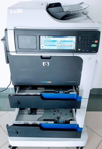 Lote De 3 Impressora Multifuncional Laser Color Hp Cm4540