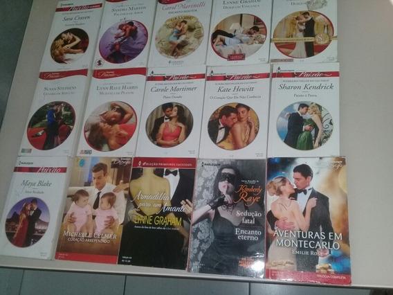 Lote Bolsolivro Romance Harlequin C/ 15 Unid C/ Aprox 185pg