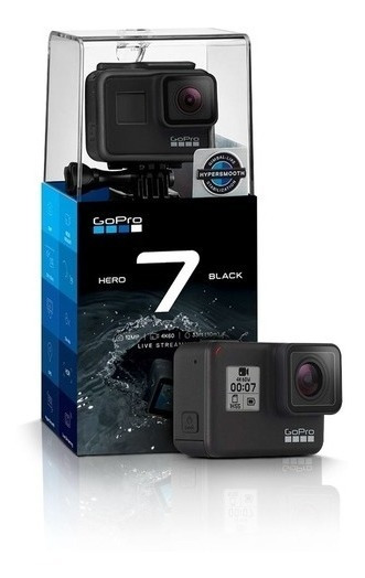 Camera Digital Gopro Hero 7 Black Ultra Hd 12.1mp 4k (nova)