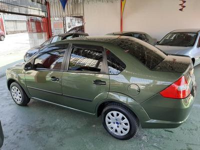 Fiesta Sedan 1.6 8v 2009 Verde/km 65000/completo-ar