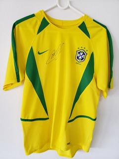 Camisa Seleção Brasileira Copa 2002