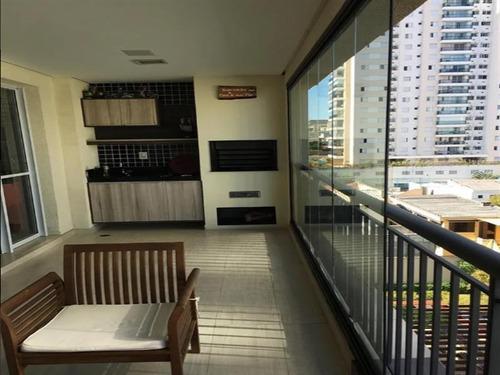 Imagem 1 de 13 de Excelente Apartamento Com Varanda Gourmet, 3 Dormitórios Sendo 1 Suíte E 2 Vagas. - 14595
