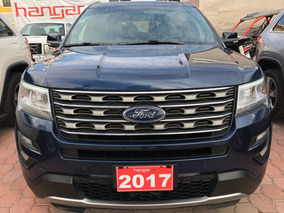 Ford Explorer 3.5 Xlt Piel At 2017 Azul Hangar