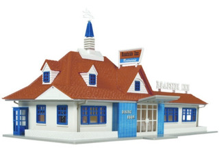 Atlas Restaurante Para Tren A Escala Ho #760