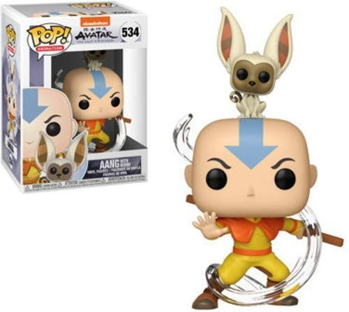 Funko Pop Avatar Aang With Momo