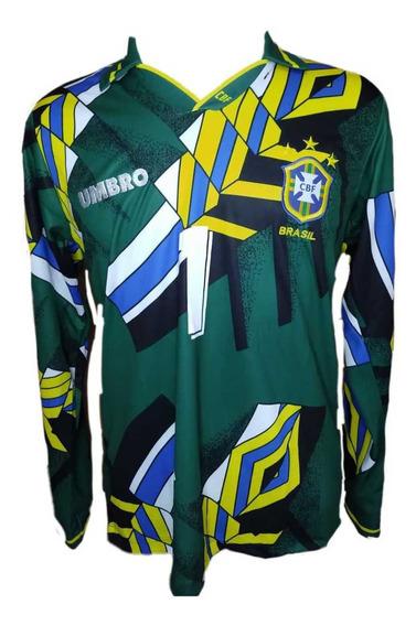 Camisa Retrô Brasil 1994 Taffarel