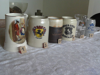 Jarras Y Vasos Para Cerveza Usados.