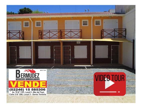 Duplex En Mar Del Tuyu. Totalmente Equipados A La Venta.