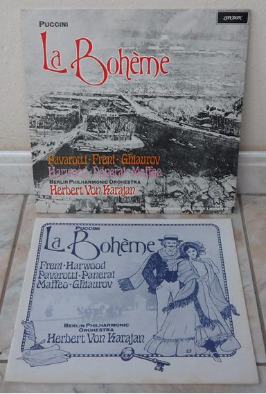 La Boheme-puccini-album Duplo(2 Lps)-estéreo(colecionador-mg