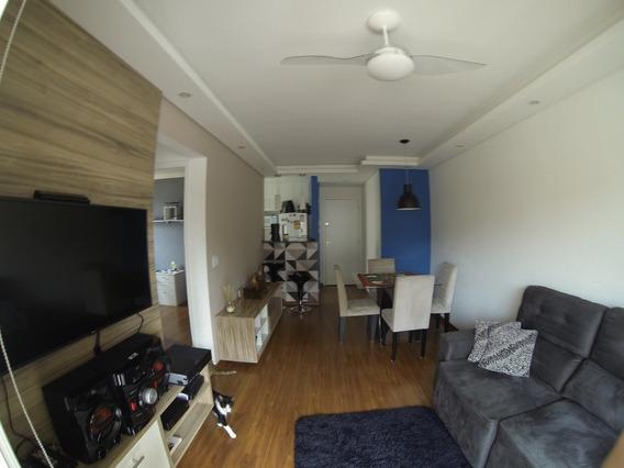 Apartamento Planejado Com 2 Quartos, 1 Banheiro, Varanda