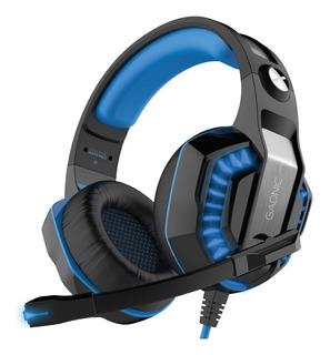 Auricular Gamer Pro Ps4 Luces + Adaptador Usb Xbox Micrófono