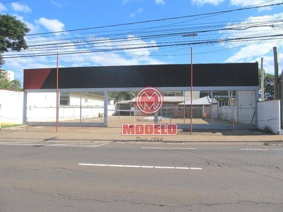 Terreno Para Alugar, 800 M² Por R$ 7.000/mês - Morumbi - Piracicaba/sp - Te0705