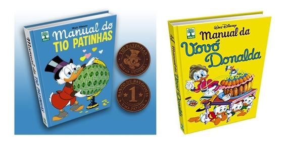 Hq Manual Vovó Donalda + M. Tio Patinhas Disney Colecionador