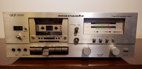 Tape Deck Marantz - Modelo: Sd 3000