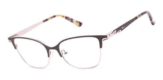 Armação Oculos Ogrife Og 541-c Feminino Com Lente Sem Grau