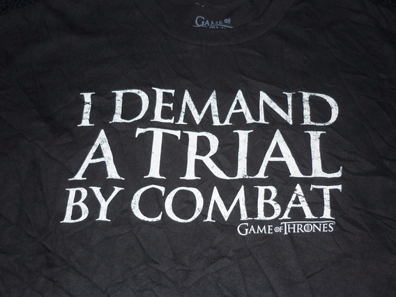 Espectacular!! Remera M/c Orig. Game Of Thrones Black L