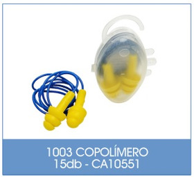 Protetor Auricular Plug Copolimero 2un
