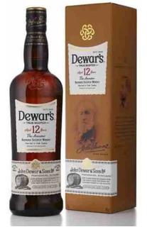 Whisky Dewars 12 Años 750ml Con Estuche
