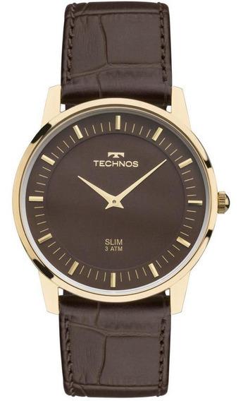 Relógio Technos Unissex Slim Gl20hj/2m