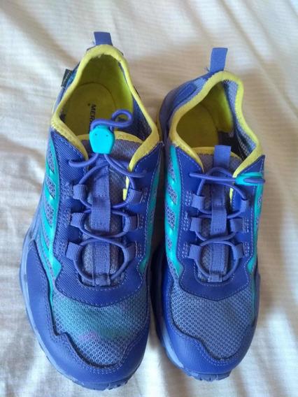 Zapatillas Merrell Ml-b Hydro Run Azul/amarillo