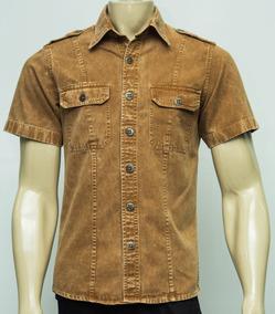 Camisa Militar Estonada / Work Shirt - Excelente Qualidade!