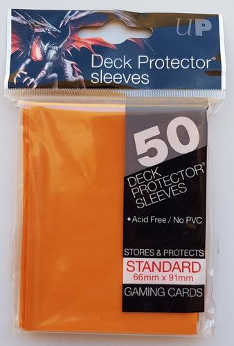 Micas Ultra Pro Standard Deck Protector Orange - Naranja