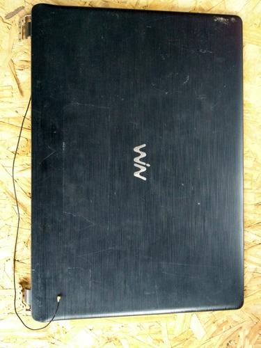 Imagem 1 de 6 de Moldura E Tampa Da Tela Notebook Cce Ultra Thin U25b Usada