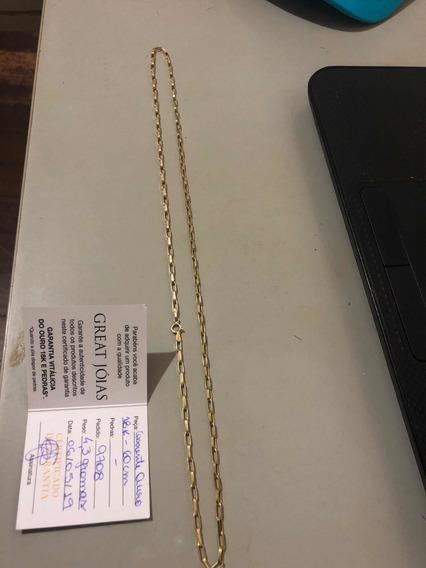 Corrente Ouro 18k 60cm