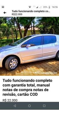 Peugeot 307 1.6 Presence Pack 5p 2005