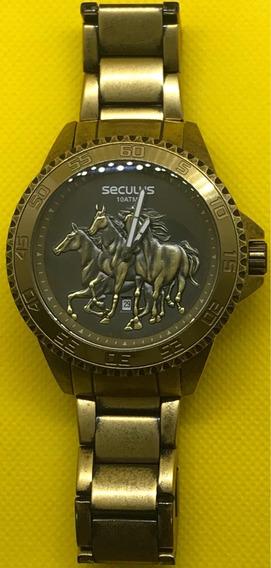 Relógio De Pulso Séculos Com Cavalo
