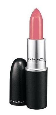 Labial Mac Metalizada Nude Rumblin Rose