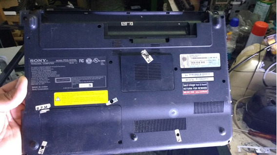 Carcaça Inferior Note Sony Vaio Pcg-61315