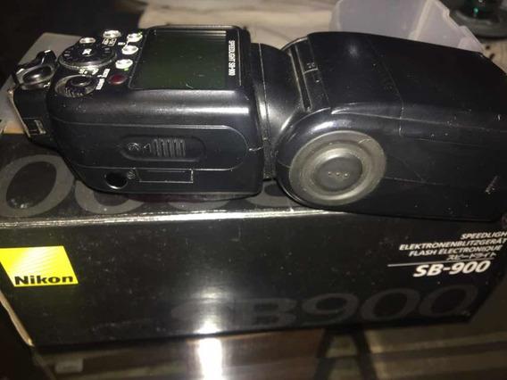 Flash Nikon Sb900 - Usado - Funcionando