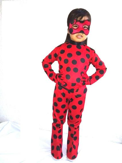 Disfraz De Lady Bug Niña Ladybug