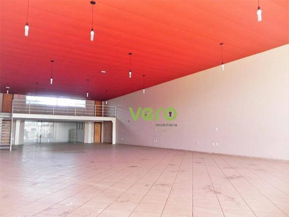 Salão Para Alugar, 273 M² Por R$ 4.000,00/mês - Vila Frezzarin - Americana/sp - Sl0036