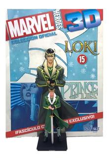 Figuras Marvel 3d Nº 15 Loki