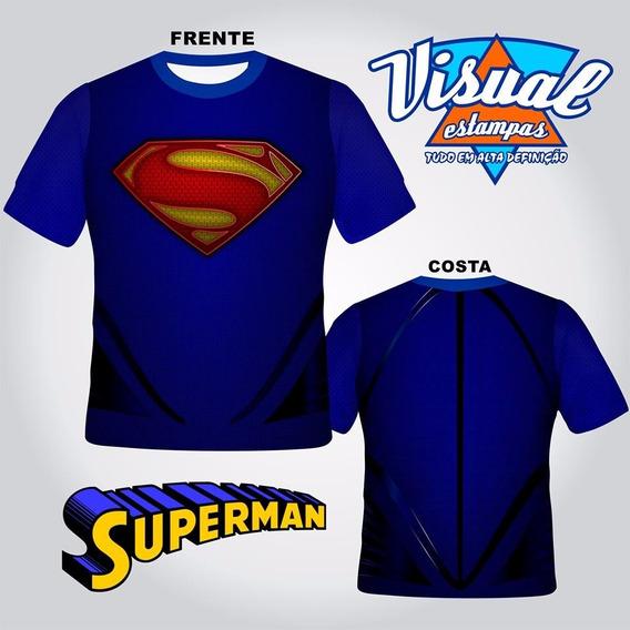 Camisa Superman, Armadura, Estampa Total Sublimação 3d