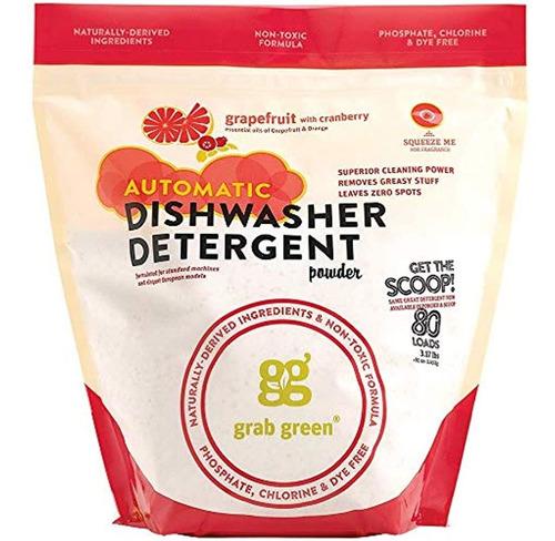 Detergente Automático Para Lavavajillas, Pomelo Y Arándano
