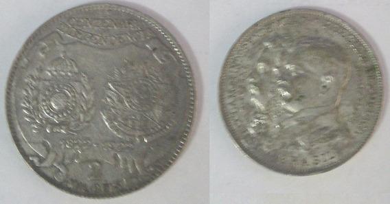 2 Mil Reis Centenário 1822-1922 Prata