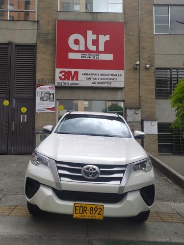 Espectacular Toyota Fortuner 2.7l Gasolina Salvamento