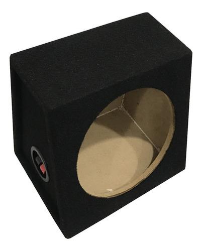 Imagen 1 de 3 de Caja Cajon Simple Para Un Subwoofer 8 Pulgadas