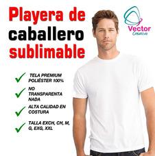 Playera De Sublimacion Sublimar Poliester Dryfit