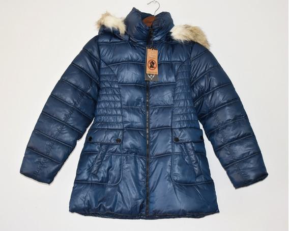 Chamarra Abrigo De Niña Marca Celsius Muy Calientita Azul