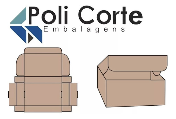 50 Caixas De Papelão P/correios Sedex/pac, M. Livre. 20x14x7