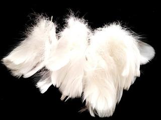 Bolsa Plumas Blancas Para Accesorios Y Vestuario