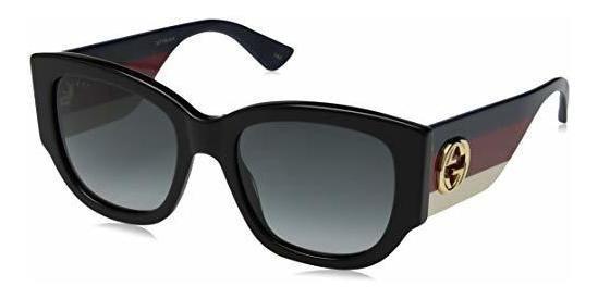 Gucci Gg0276s - Gafas De Sol Cuadradas (plástico, 2.087in)